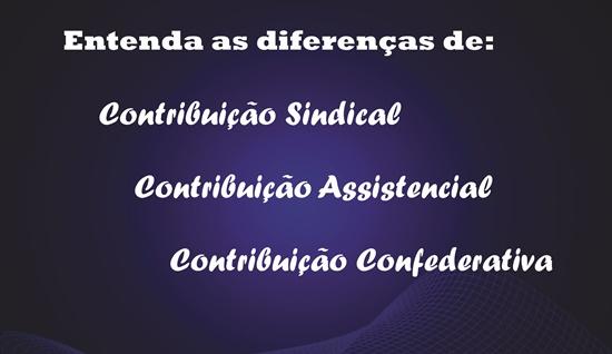 Entenda as diferença das Contribuições